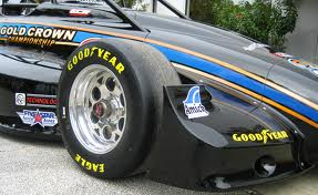 goodyear racing tires are designed and compounded solely for racing purposes and are not tested or labeled to meet fmvss109ece36 safety standards